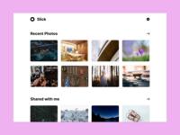 Slick | Photo Gallarey Web App