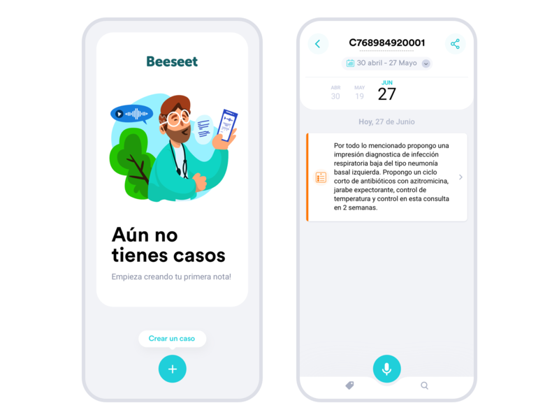 Medical healthcare artificialintelligence health illustration cards minimal ios app clean flat ux ui