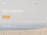 Blink Landing Page