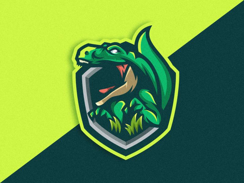 Trex Mascot logodesigner logodesign cartoon logogame gaming trexlogo trex logoicon logoesport logomascot vector illustration icon logo