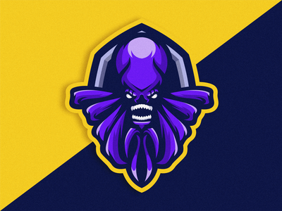 Octopus Logo Icon logodesigner esportlogo logoicon logoesport logoideas octopus gaminglogo logogame logodesign gaming symbol logo design vector illustration