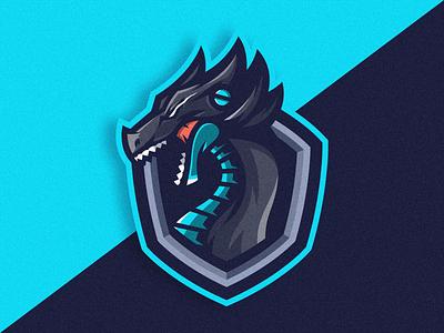 Dragon Logo Icon wild logodragon logoicon dragon logodesigns logodesigner gamers gaminglogo logos logoesport logodesign gaming cartoon icon logo design vector illustration