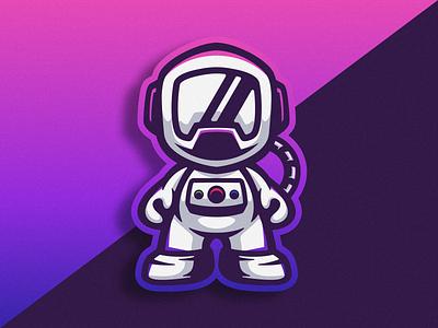 Logo Icon Astronaut earth design vector astronaut logoesport logogame illustration logodesign gaming cartoon icon logo