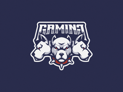 Cerberus Logo Mascot illustration vector logoesport logogaming logoicon logodesign squad team esport gamer gaming game icon mascot logo