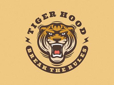 Tiger Logo Mascot graphic design animal retro vintage character business brand branding cartoon vector illustration logodesign logoicon logomascot design icon mascot logo tiger