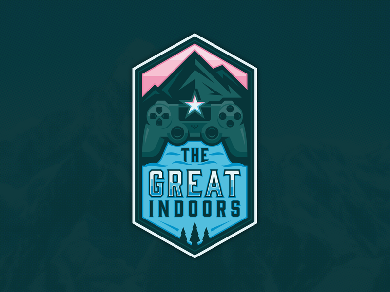 The Great Indoors Badge Design