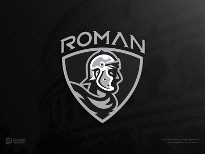 Roman Legionnaire Update army history roman illustration shield helmet armor sports design logo design illustrator sports crest crest logo sports logo vector roman empire ancient rome custom typography legion rome