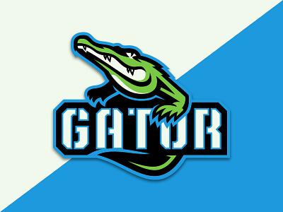 Gator esports brand illustration sports illustration gator illustration illustration sports logo mascot logo design mascot design sports vector vector logo mascot logo mascot alligator gator logo logo gator