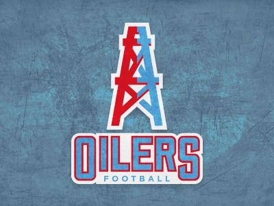 Quick re-brand idea 'Houston Oilers'