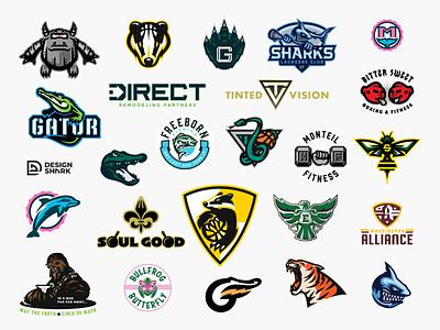 2020 Logo Vol. 1 branding timeless mascot design logo designer vector clean bold logotype illustrative logo brand identity lacrosse football basektball badge logo concept logo corporate logo sports logo mascot logo logo