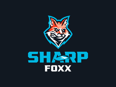 Sharp Foxx | Branding illustrator identity design fox mascot fox logo custom type illustration vector illustration sharp bold mascot logo analytics games online betting sports branding brad identity branding sports logo logo logotype fox