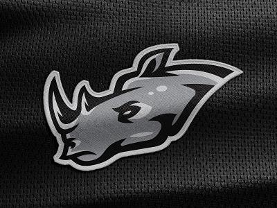Rhino Sketch to Vector mascot design mascot logo rhino logo thick lines bold logo badge logo vector sketching sports logo sports branding branding logo rhino