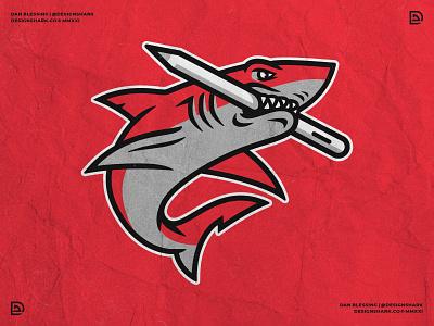 Design Shark Official Brand Mascot design aggressive bold clean brand identity graphic design vector sports design sports logo shark logo shark illustration shark branding logo logo designer illustration personal branding shark mascot mascot design mascot logo