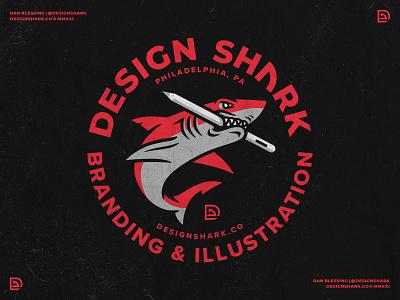 Design Shark Mascot Badge Color sports logo bold red roundel vector illustration sports mascot mascot design mascot logo sports design sports branding shark logo logo badge logo crest shark badge shark design shark mascot shark