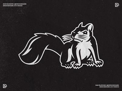Squirrel Mascot Logo clean bold sports illustration illustration vector sports logo squirrel graphic design brand designer branding mascot sports branding logo designer logo