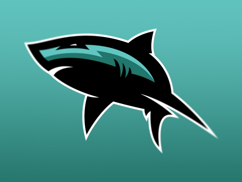 shark dribbble