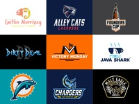 Best Nine Logos 2017