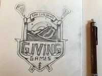 Lax Tourney Logo Sketch