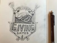Lax Tourney Logo Sketch