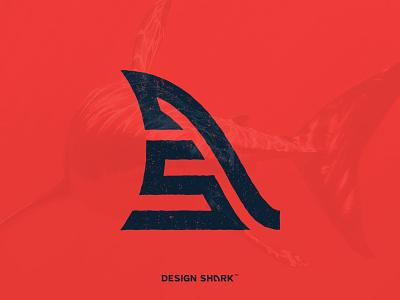 Design Shark : Brand Extension Exploration design shark red design identity logo brand extensions branding typography fin shark