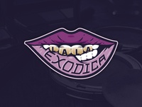 Lala Exodica | Logo for Cosmetic Line