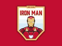 Iron Man Badge