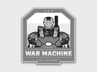 War Machine Badge Logo