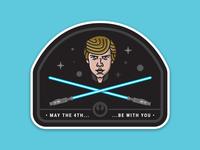 Use the Force, Luke.