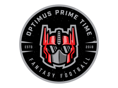 Fantasy Football '18 design shark red illustrator illustration football sports branding sports optimus prime brand identity branding logo fantasy football