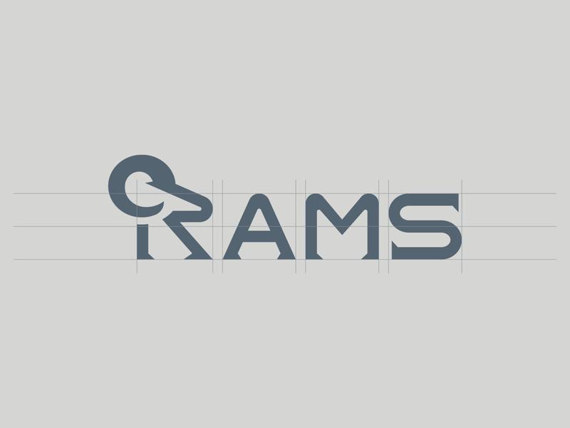 Charging into the weekend like logo build grey wordmark round logodesign illustrator grid typography custom typography ram vector logo designer logotype