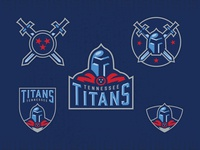 Titans Rebrand Passion Project Cleaned Up