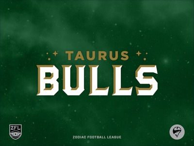 ZFL   Taurus Bulls Wordmark