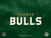 ZFL | Taurus Bulls Wordmark