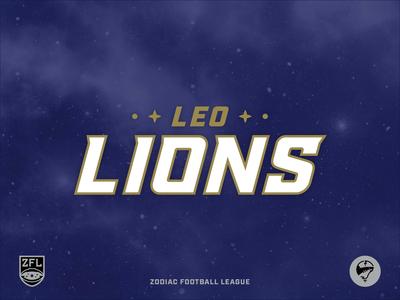 ZFL | Leo Lions Wordmark