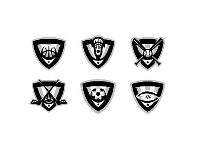 Rebranding Project | WIP icon design dynamic wip badge logo badge design baseball hockey football basketball lacrosse soccer sports logo logo sports branding branding illustration sports crest badge