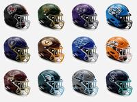 Zodiac Football League | All 12 Helmet Designs
