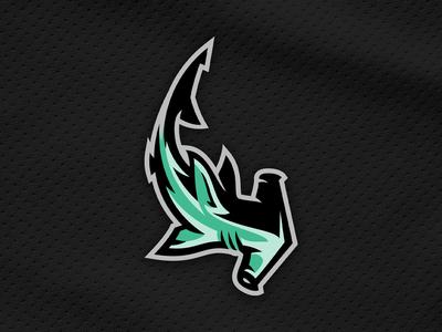 Hammerhead Shark Vector Logo