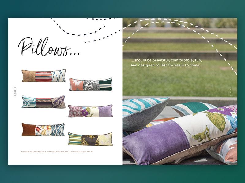 Ispaci Look Book print look book catalog layout