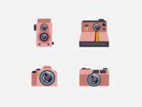 Vintage to modern Cameras