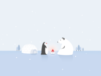 Polar Bear & Penguin