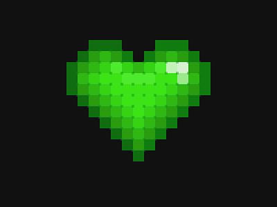 Pixel Heart pixelated 8-bit 8bit