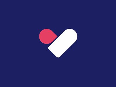 Healthcare logo logo insurance health heart medical
