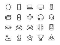 Device & Gaming Icons