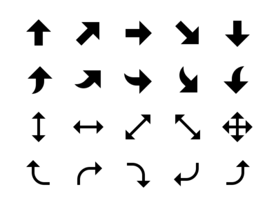 Arrows & Directions Solid Icons