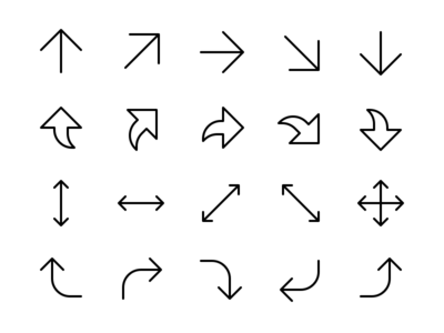 Arrow & Direction Icons