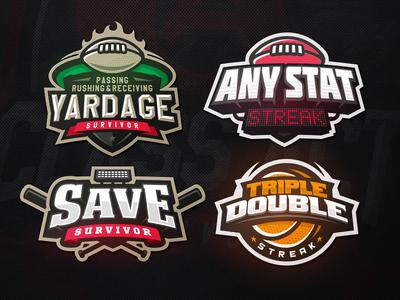 CLassActSports streak survivor zerographics logo sport bat ball basketball football baseball