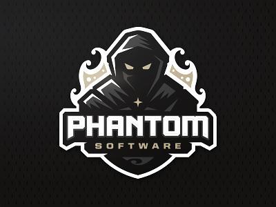 Phantom software zerographics sport logo fire software phantom