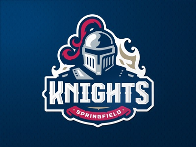 Knights team zerographics logo sport knights
