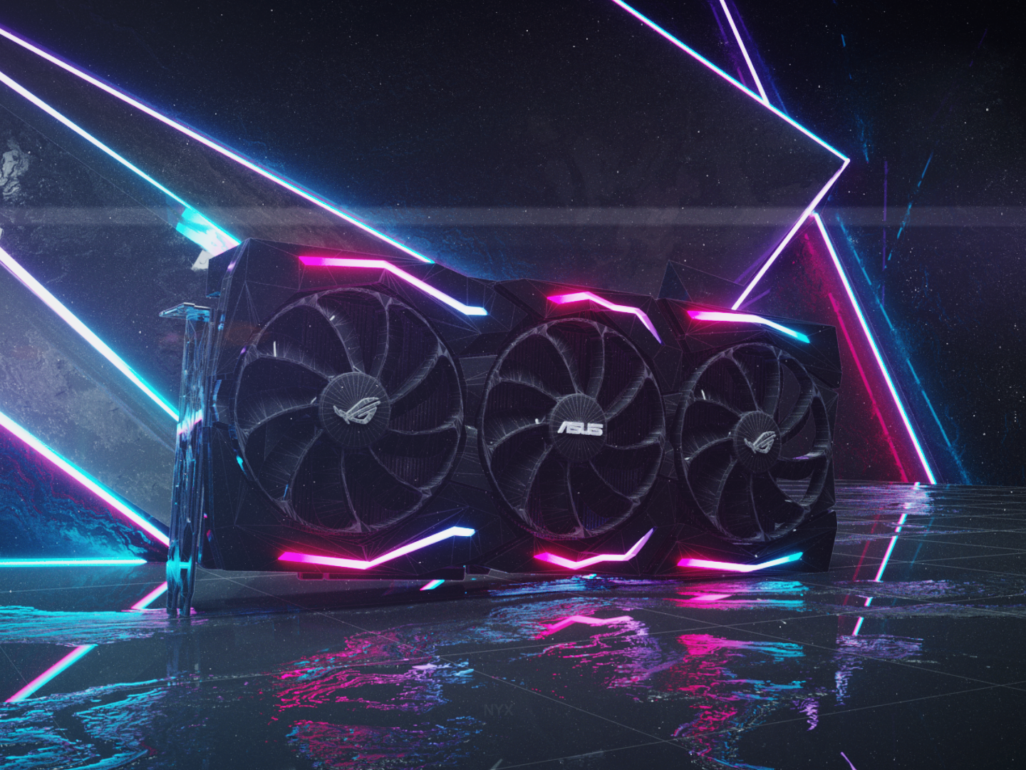 Asus Geforce Rtx 2080 ROG Strix by NyXGraph on Dribbble