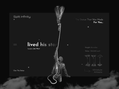 Split Infinity _____ The History of Sculpture